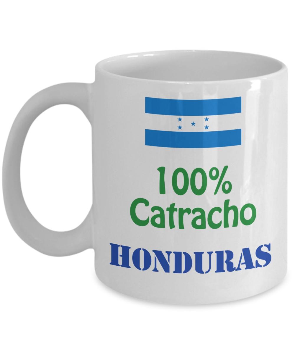 Honduras Taza de Cafe 100% Catracho