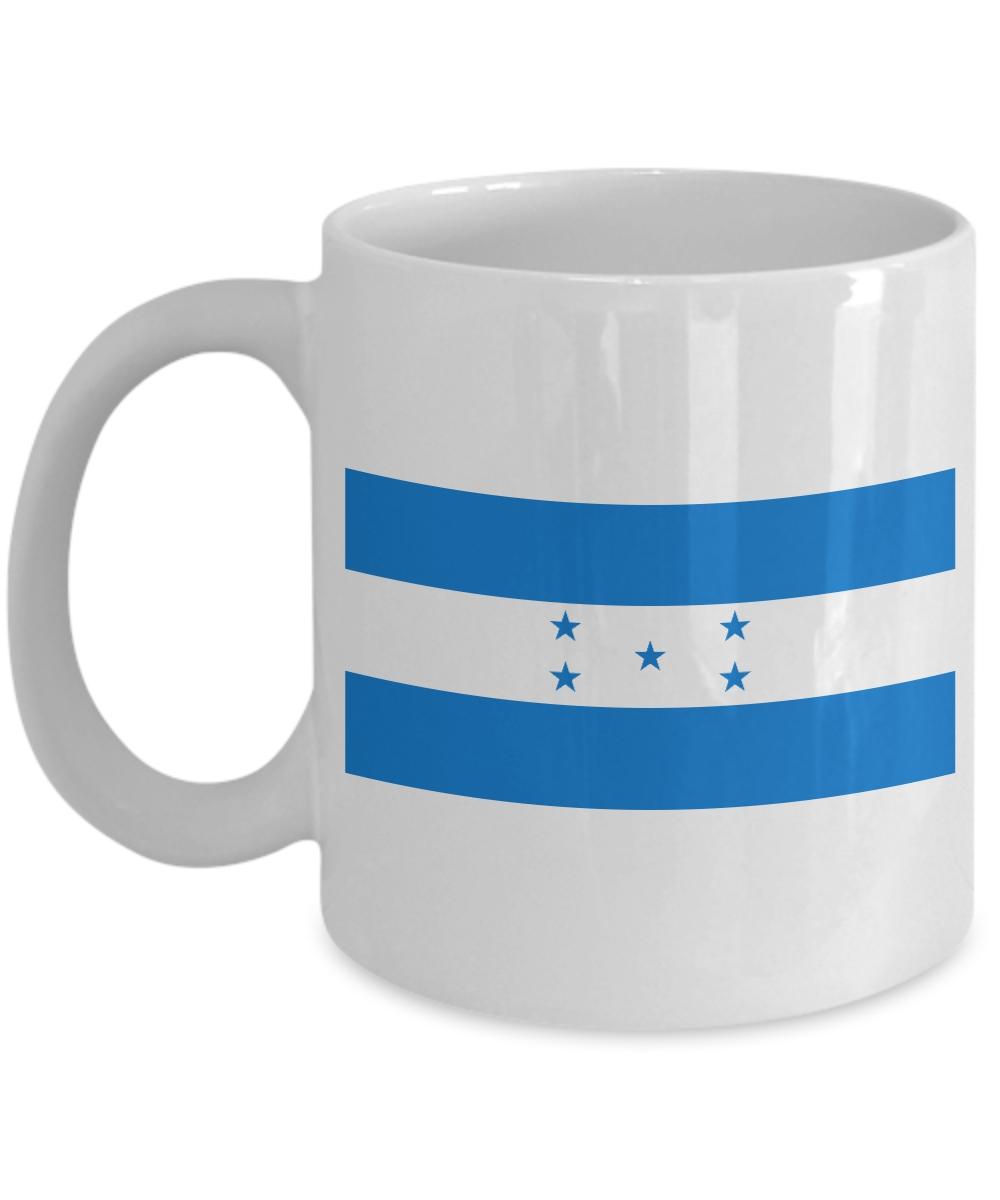 Honduras Taza de Cafe con Bandera