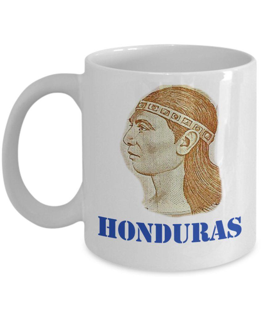 Honduras Taza de Cafe con Lempira