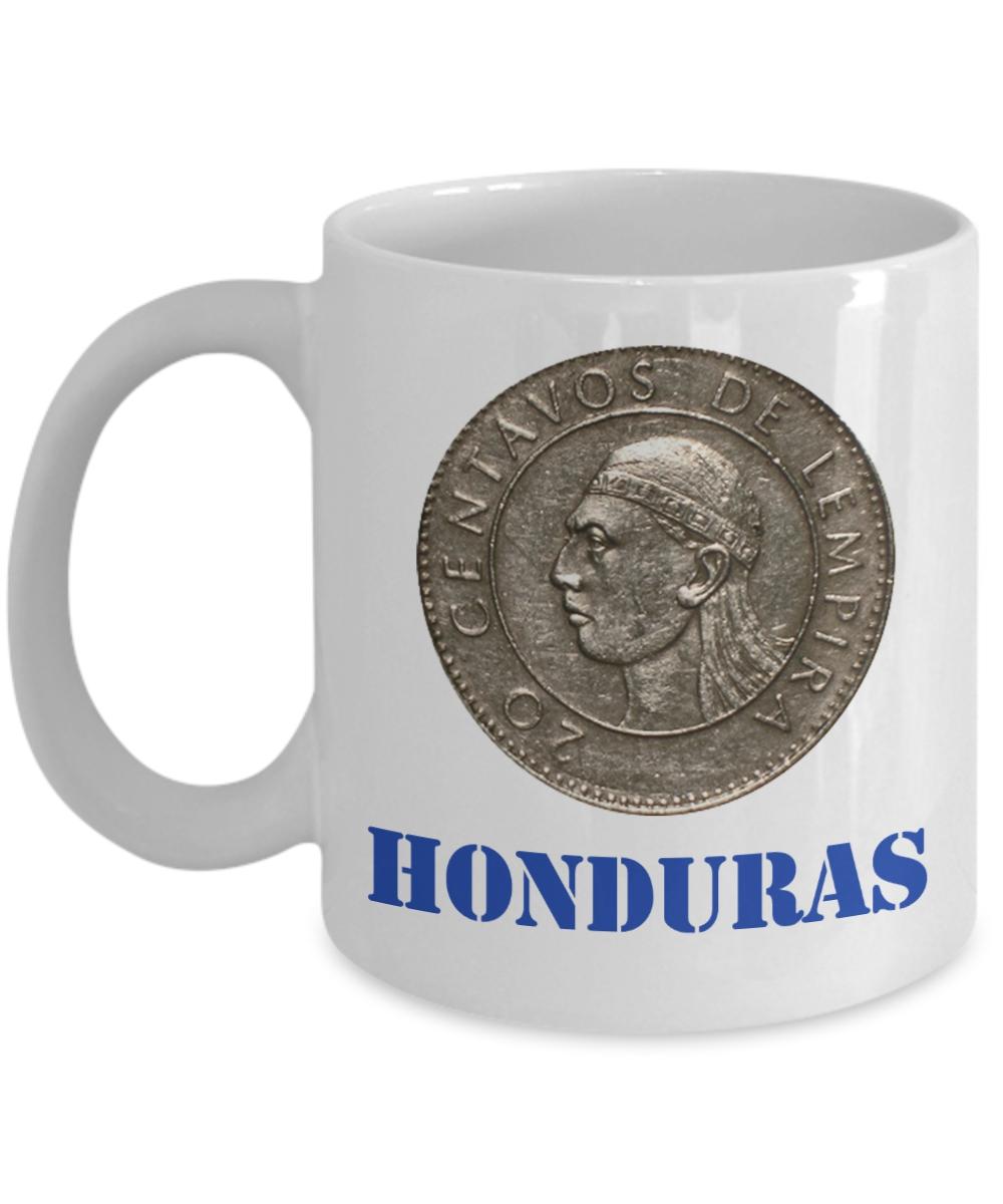 Honduras Taza de Cafe con Lempira Centavos