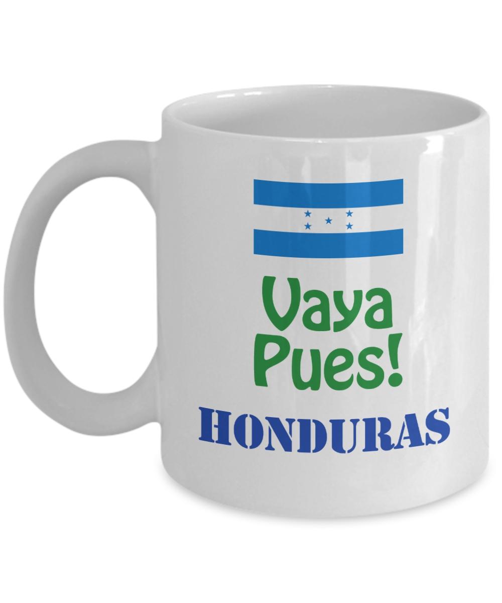 Honduras Taza de Cafe Vaya Pues!